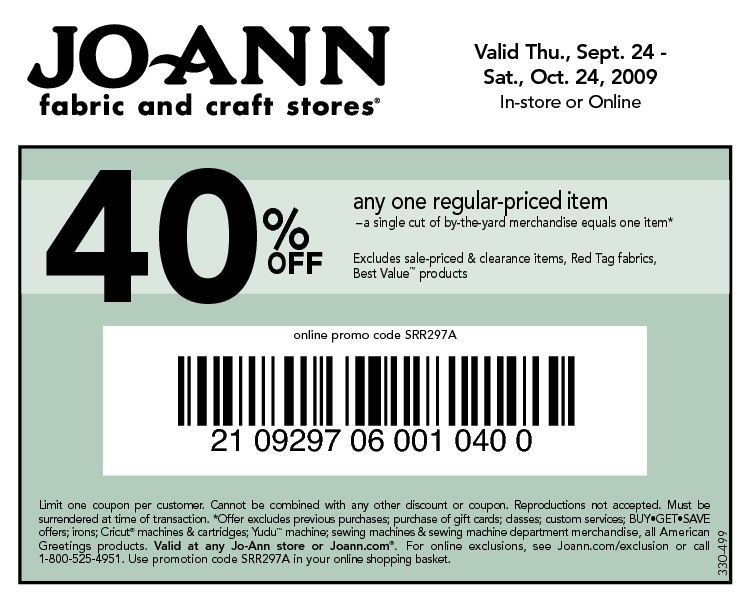 Joann's is a crafters paradise selling everything from paints, fabrics, frames, crafts, and florals to decor for the home and holidays.