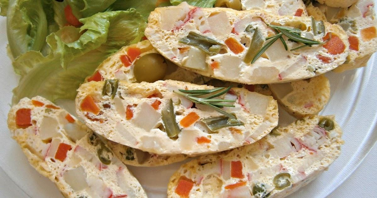 La cocina de los inventos pastel de ensaladilla al vapor for Cocinar ensaladilla rusa