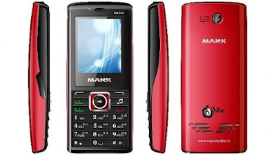 Maxx MX349 Mobile Phone Review and Specification