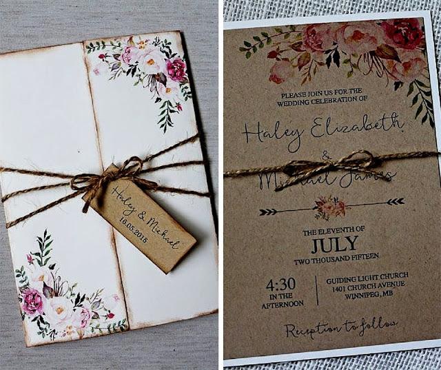 интересни сватбени покани