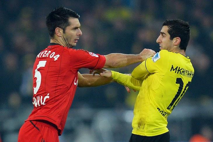 El Leverkusen y el Dortmund firmaron un empate