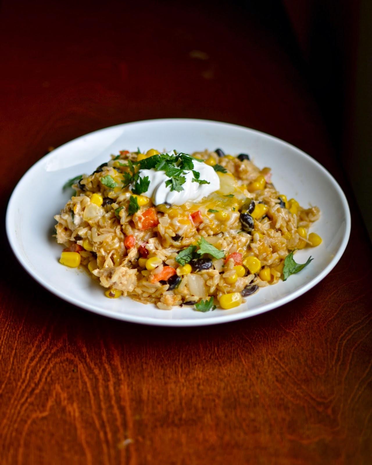 Yammie's Glutenfreedom: Chipotle Chicken and Rice