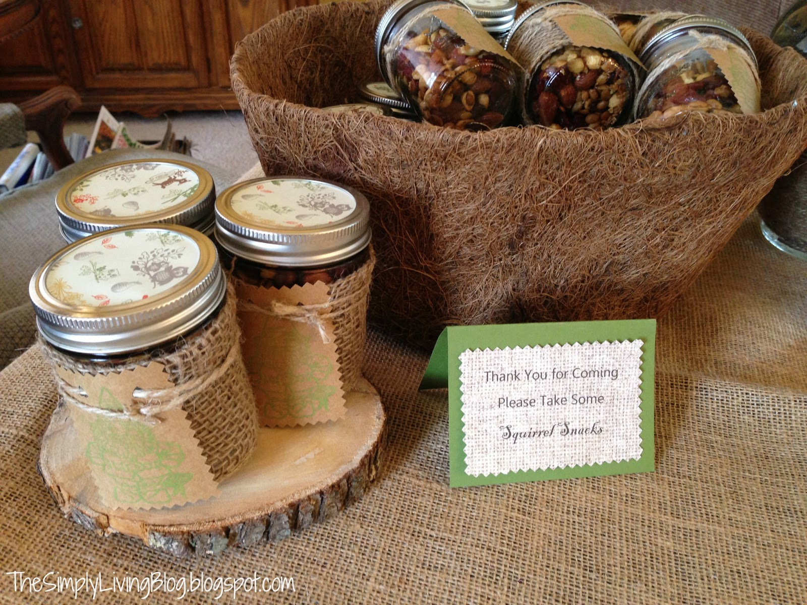 simply living woodland creature baby shower