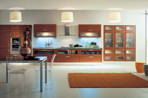 Modernas cocinas de madera kitchen design luxury homes for Cocinas madera modernas