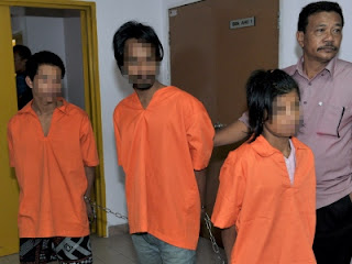 3 suspek kes bunuh Dirang dilanjut reman