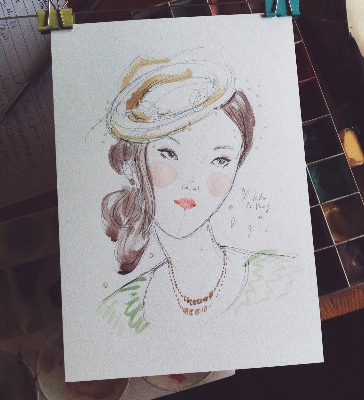 Kitty N. Wong / Hat Girl Live Portrait