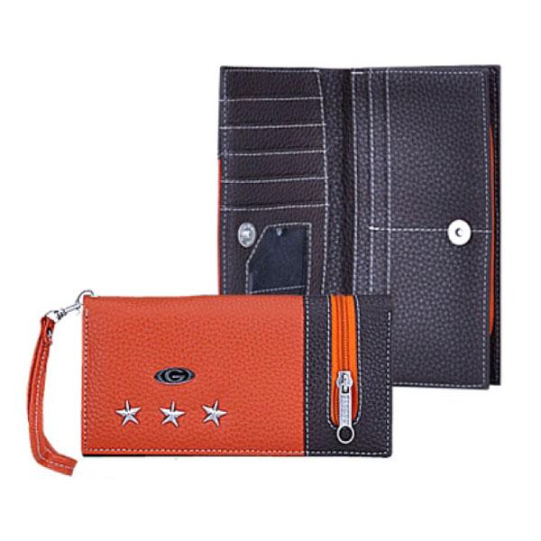 jual-dompet-wanita-oranye-hitam-murah-bandung-garsel-wanita-GLN-004