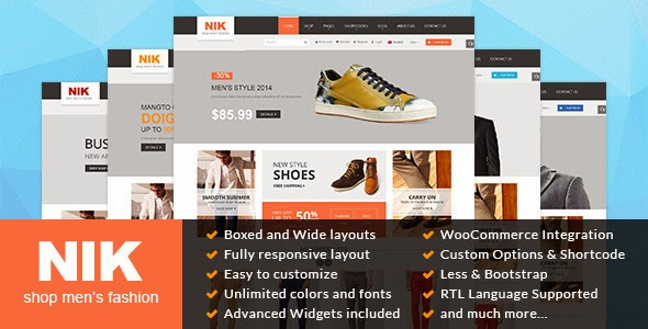 WordPress Fashion Store Theme