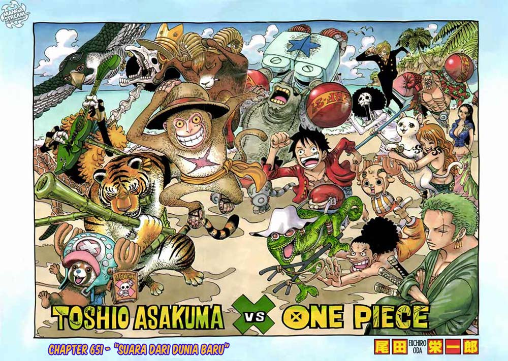 Komik manga 01 shounen manga one piece