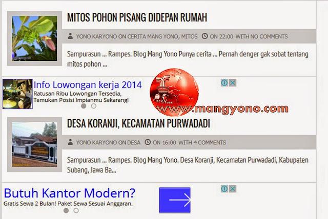 Akhirnya Gambar Thumbnail Muncul Kembali Di Home Blogg.