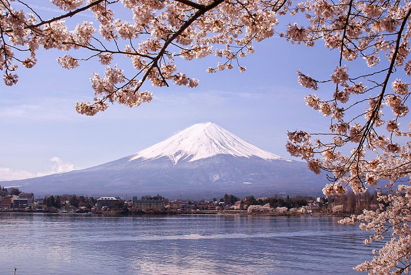 Gunung Fuji dari Danau Kawaguchi