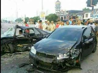 Gambar Ustaz Azhar Idrus Kemalangan