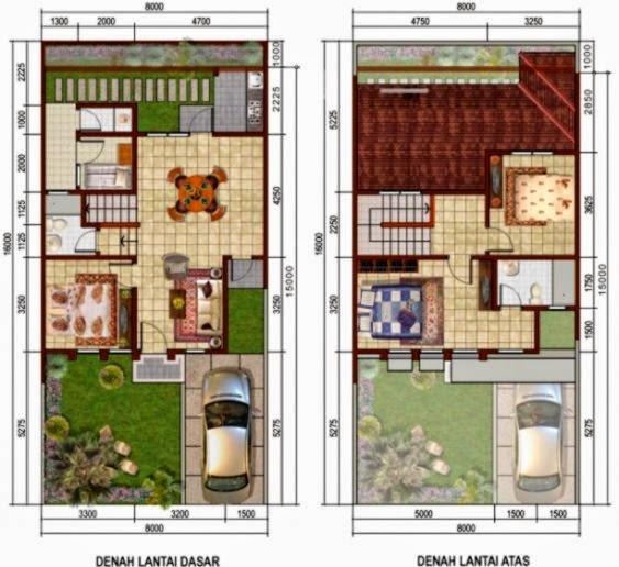 desain rumah 2 lantai minimalis modern design rumah