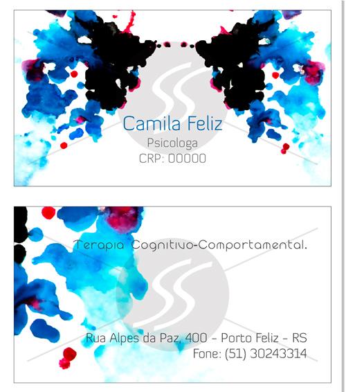 graficas cartoes de visita psicologia - Cartões de Visita para Psicólogos