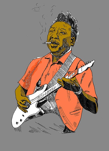 Muddy Waters Drawing