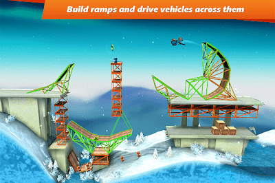 download bridge constructor stunts apk mod