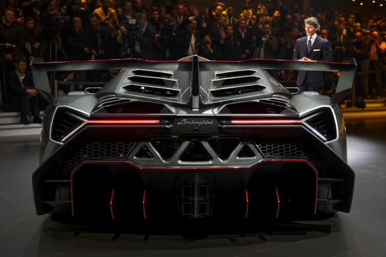 JustaCarGal Lamborghini Veneno and Aventador