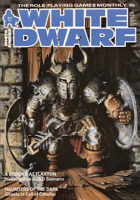 WHITE DWARF MAGAZINE #67 1985 D/&D, CTHULHU, GOLDEN HEROES
