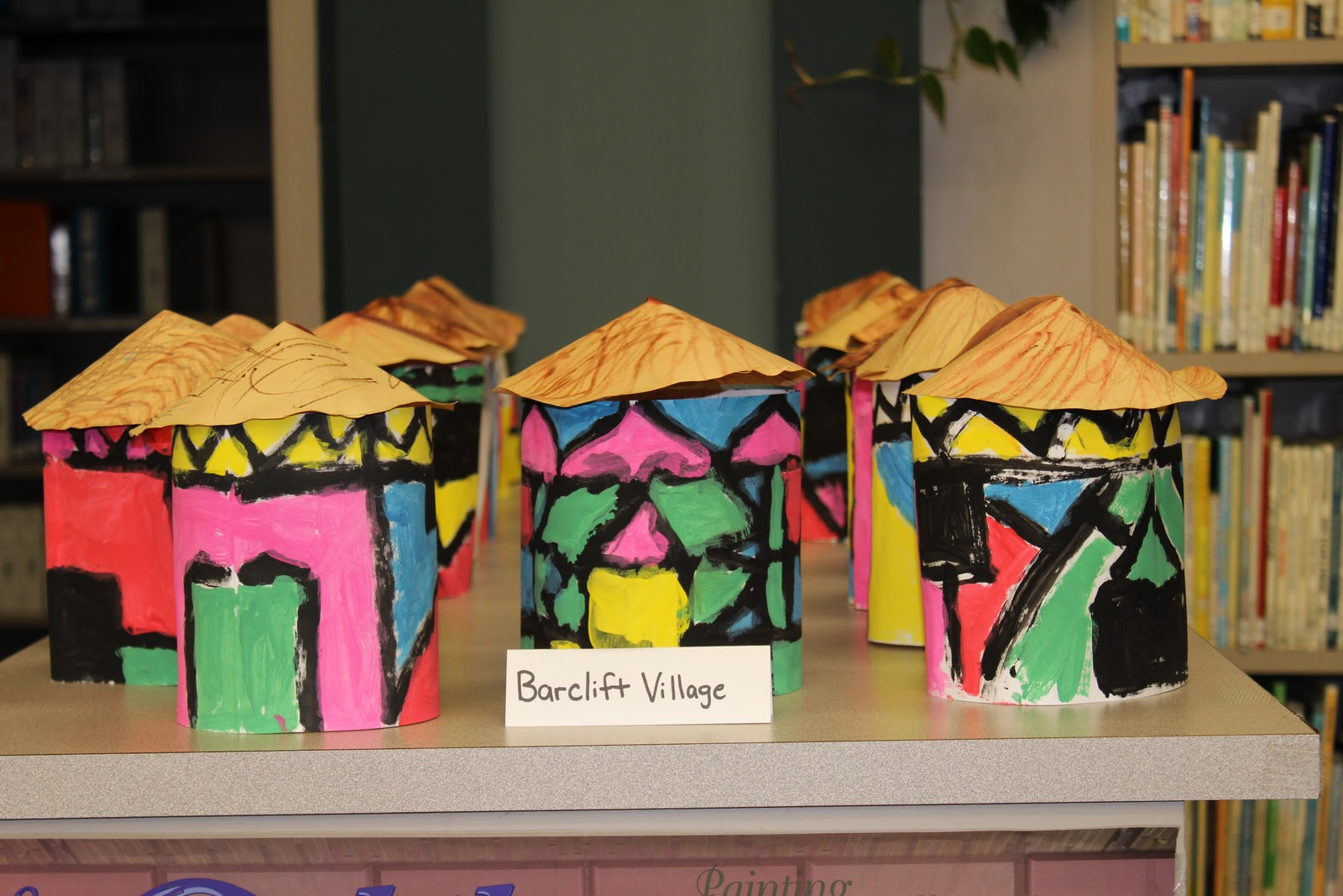 North alabama elementary art share ndebele painted houses for Arts and crafts for 9 12 year olds