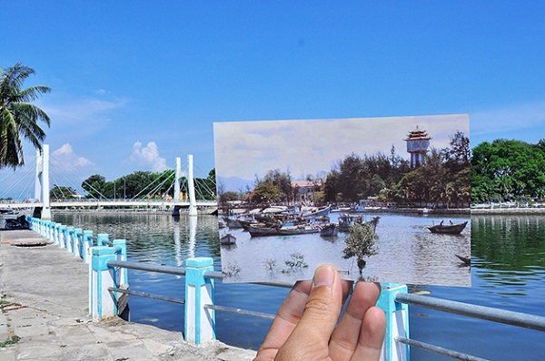 vietnã em sobreposição de fotos