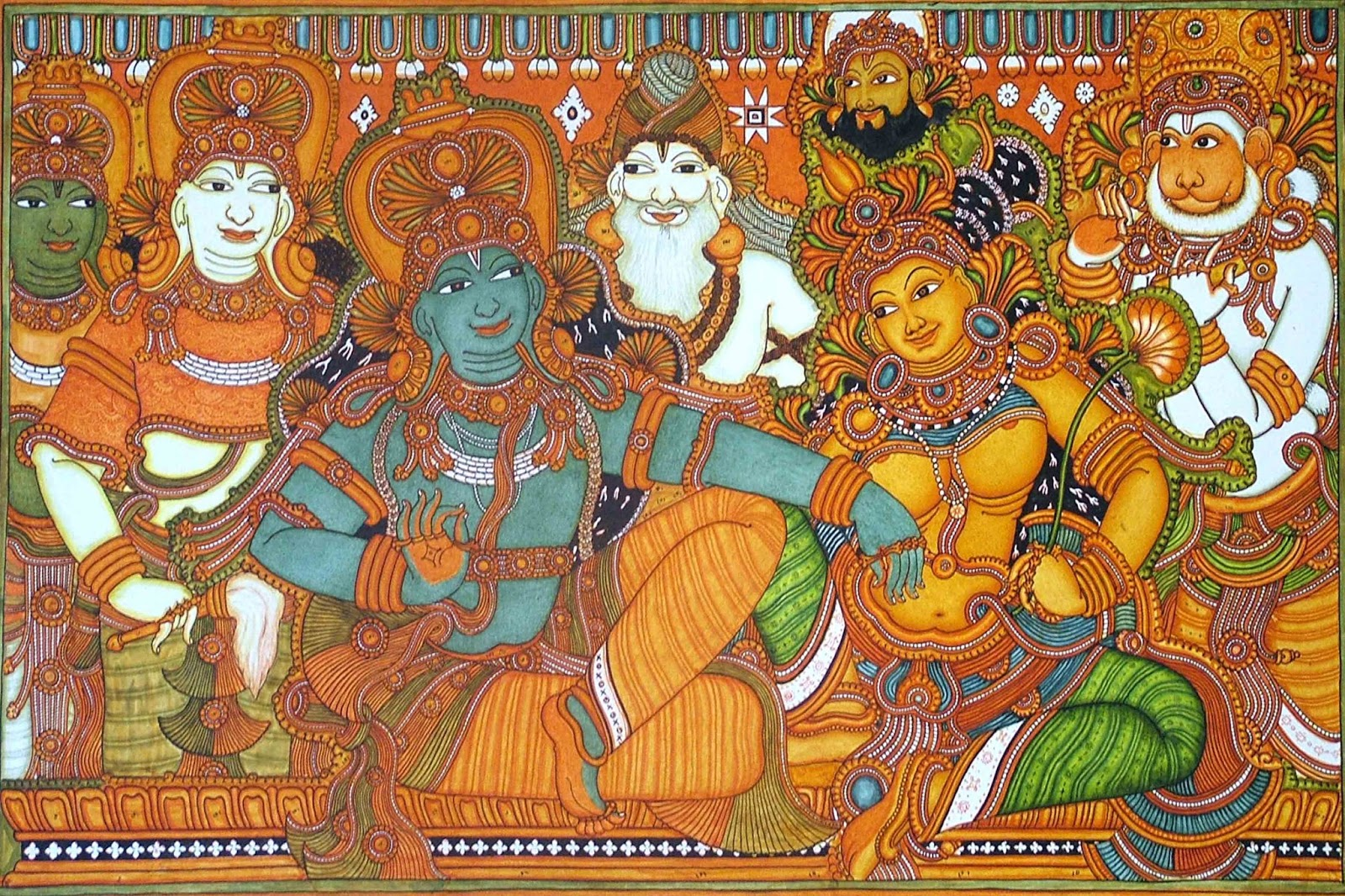 Mural painting sarees in bangalore dating 3