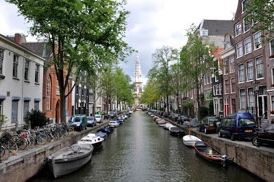 Canal en Amsterdam - Países Bajos - que visitar