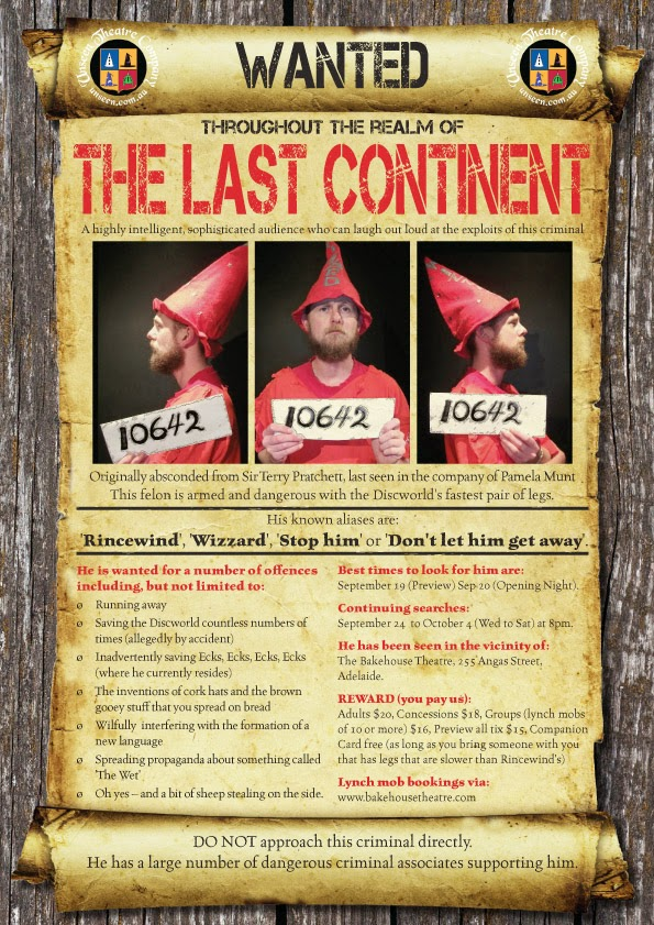 unseen theatre company - the last continent
