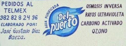 AGUA PURIFICADA DEL PUERTO