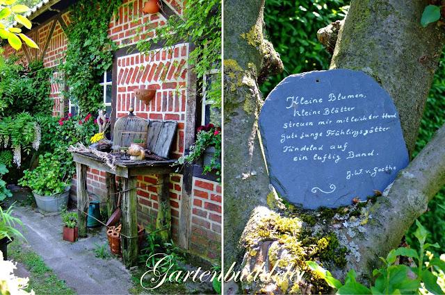 cottage garten sitzplatz. Black Bedroom Furniture Sets. Home Design Ideas
