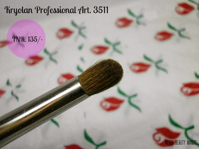 Kryolan Professional Art 3511 small crease brush