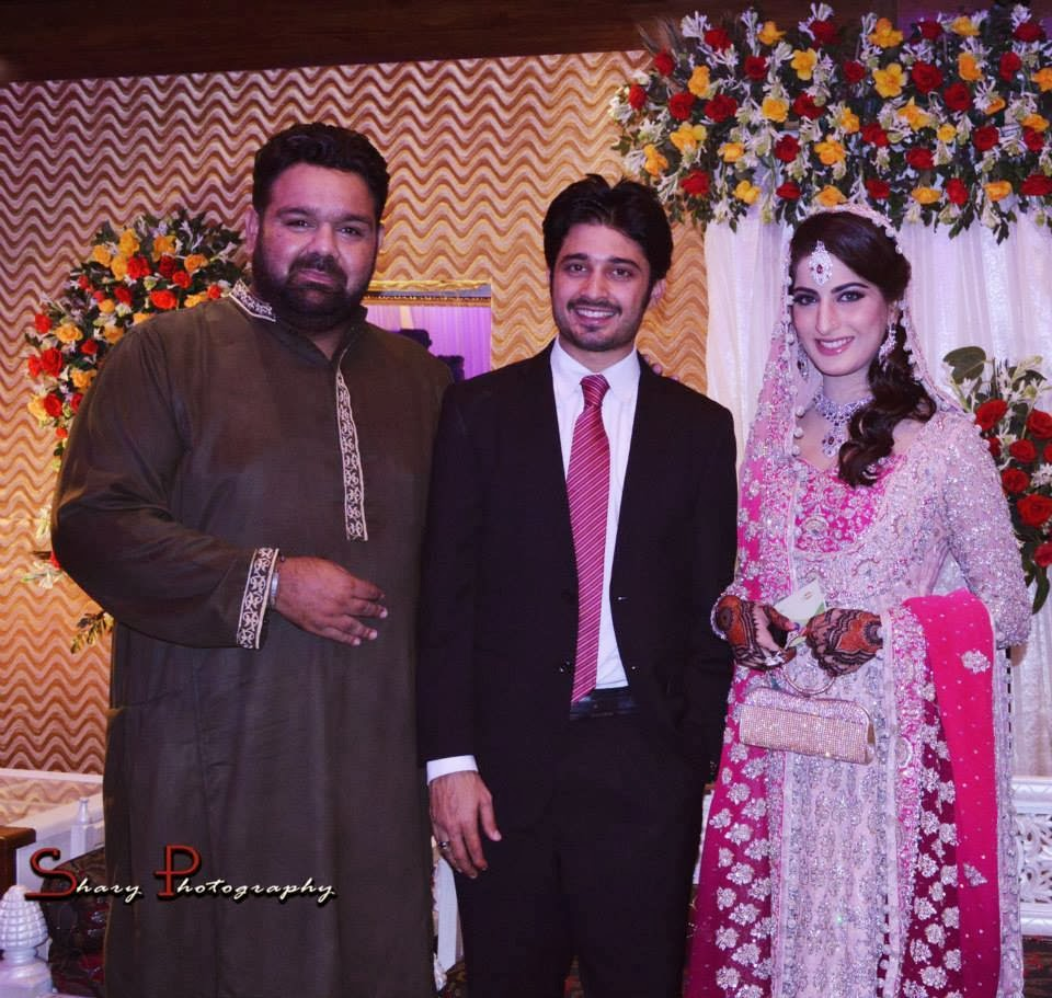 Babar khan wife wedding