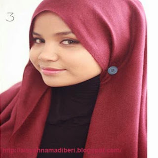 Cara Memakai Jilbab Kreasi Jilbab Pashmina Canitk Terbaru