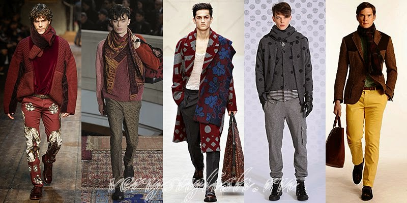 Winter 2015 Scarves Fashion Trends