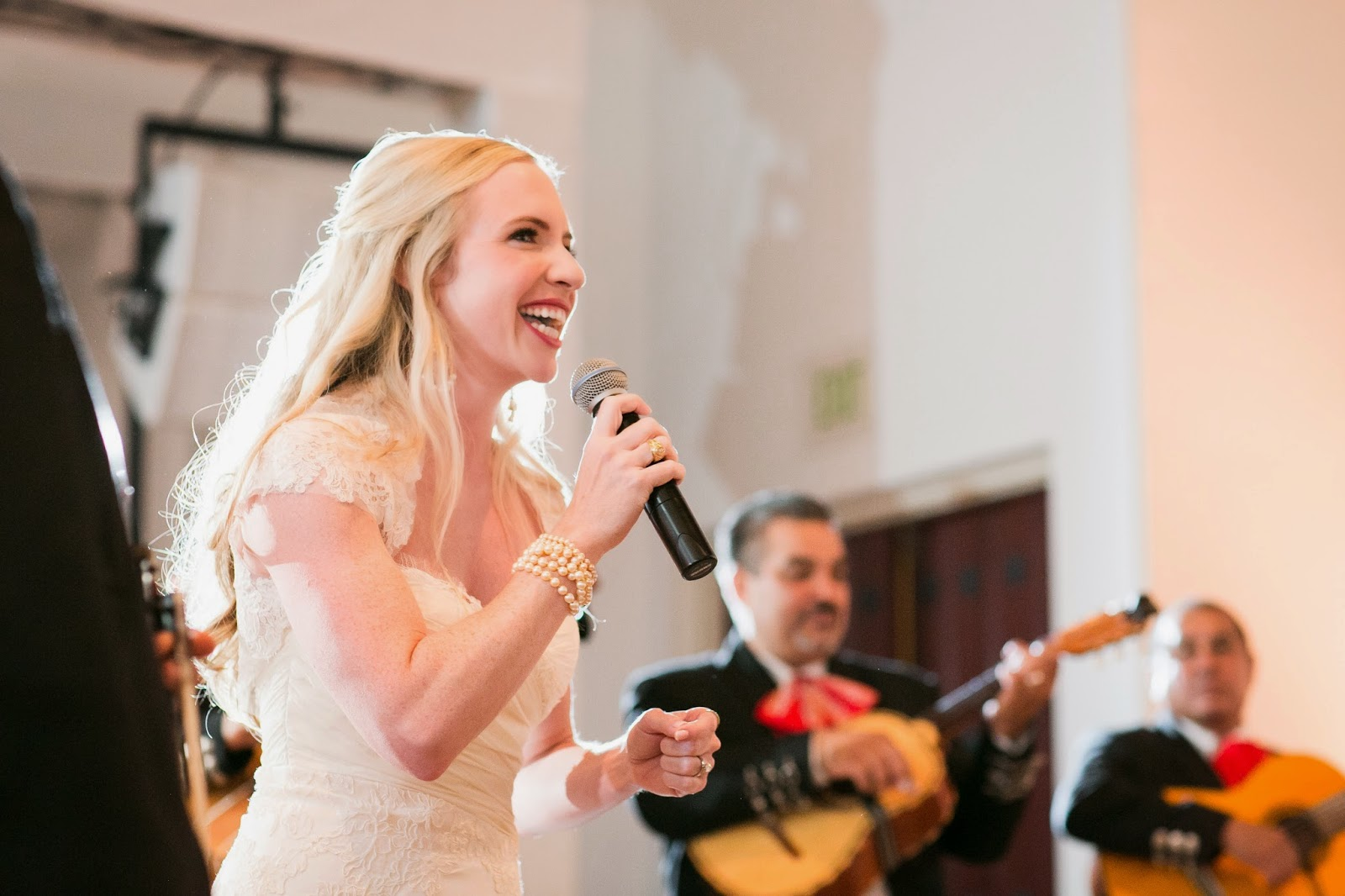 Olivia Margaux: Wedding Day: Kicking Off The Reception With A Song