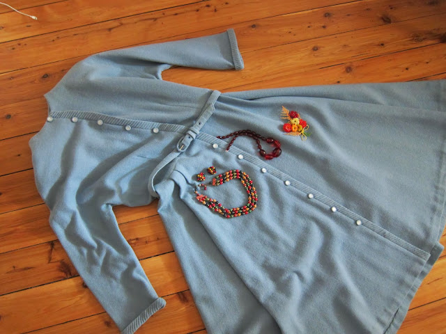 1950s blue vintage dress australia large xl pinup bakelite