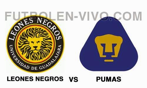 Leones Negros vs Pumas