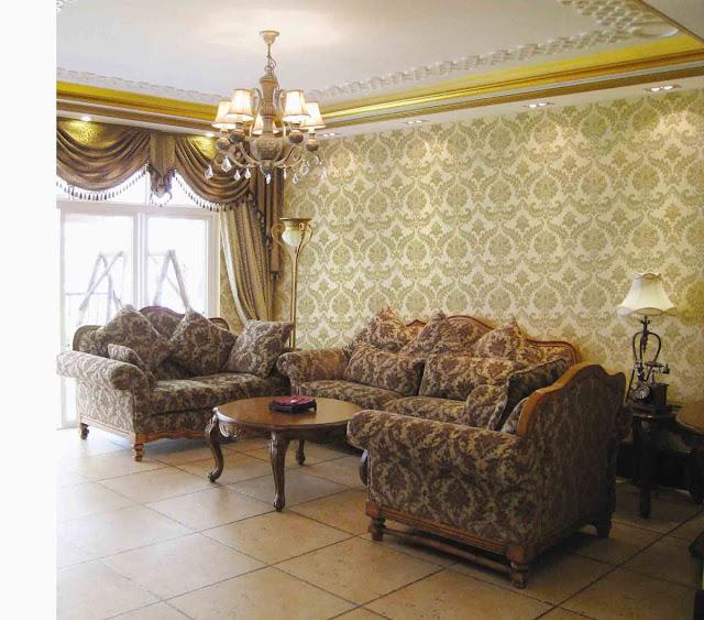 Tư vấn chọn giấy dán tường cho phòng khách