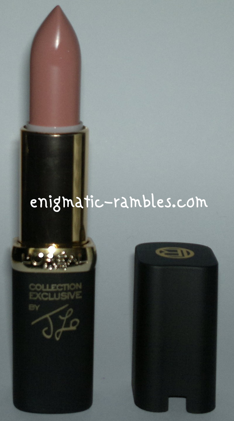 Swatch-Review-L'Oreal-loreal-J-Lo's-Cheryl's-Nude-Lipstick