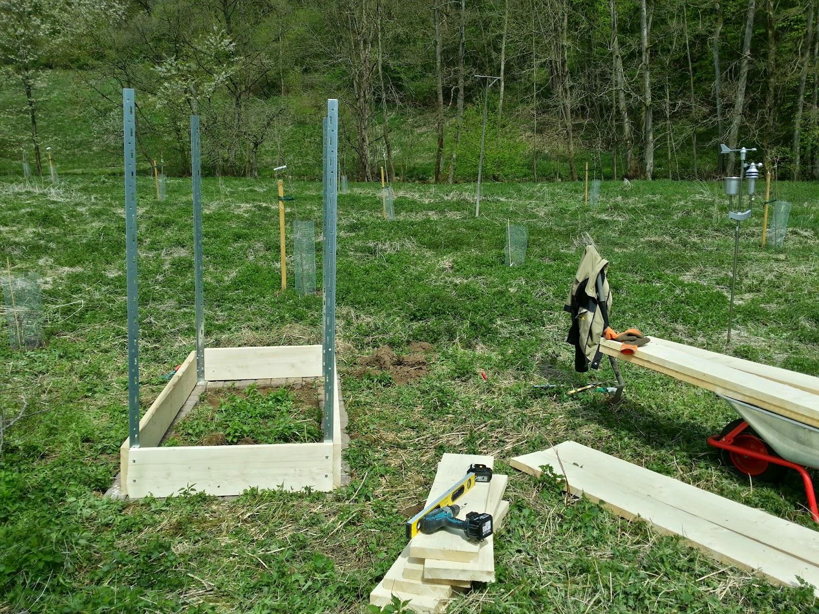 Eulenhorst Hochbeet Im Bau