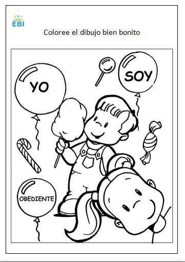 Para colorear ~ EBI Mexico