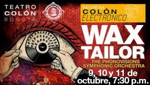 WAX TAILOR Y LA ORQUESTA SINFÓNICA NACIONAL