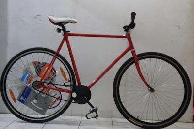 foto Modifikasi Sepeda Fixie