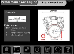 Ilustrasi Presentasi Combustion Engine