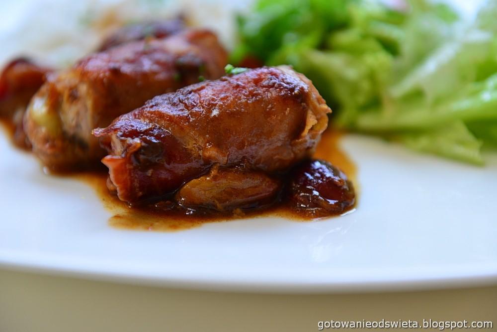 Polędwiczki wieprzowe w sosie śliwkowym