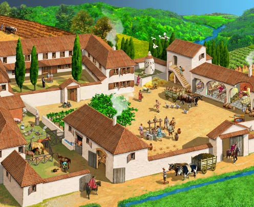 Bardallur las villae en la antigua roma for Villas romanas