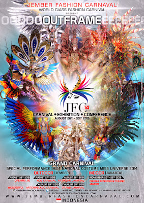 Jember Fashion Carnaval 2015 - OUTFRAME