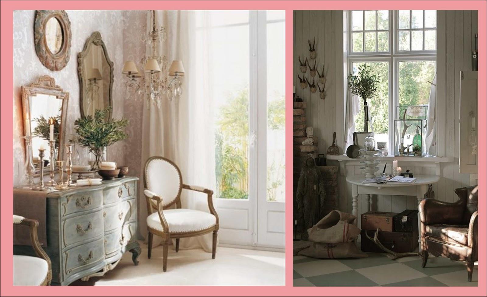Trendy un b sico decoraci n shabby chic virlova style - Decoracion shabby chic vintage ...