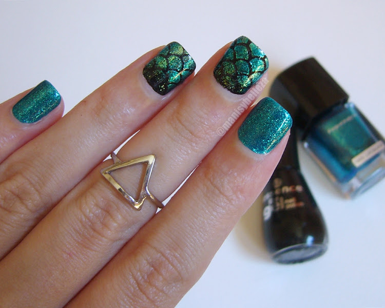 Summer nails Mermaid nail art