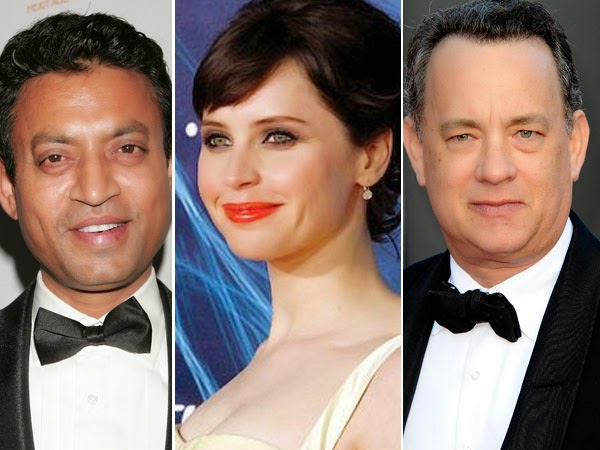 "Irrfan Khan, Tom Hanks & Felicity Jones To Star In ""Inferno"""