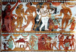 Bhikshatana and Moini, Nayaka, late seventeenth century A.D., Chidamabaram.
